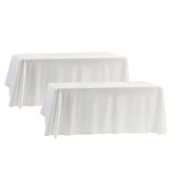 Nappe Rectangle Blanche...
