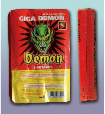 PQT 3 PETARDS GIGA DEMON®