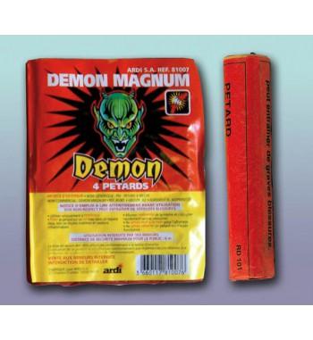 PQT DE 4 PETARDS DEMON® MAGNUM