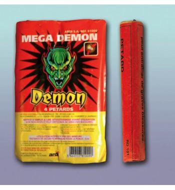 PQT DE 4 PETARDS MEGA DEMON®