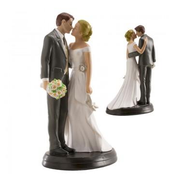 Couple de mariés avec...